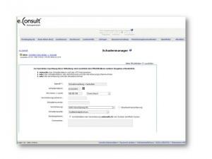 WebAkte Screenshot Schadenmanager