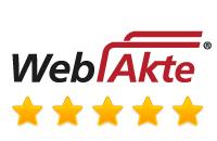 WebAkte Bewertung